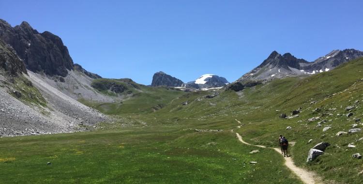 La grande traversée des Alpes par le GR5